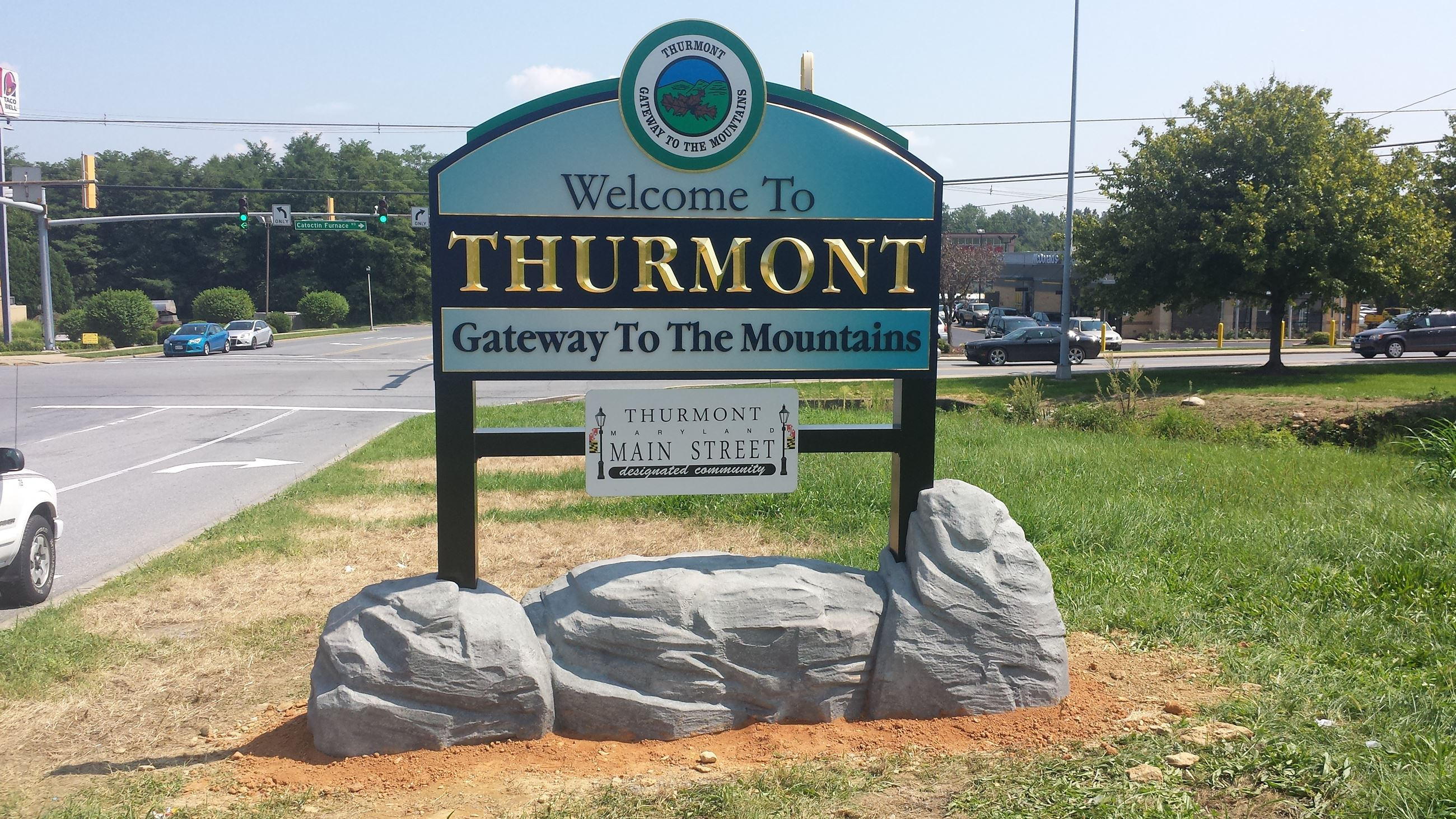 Gateway Sign - Thurmont Blvd